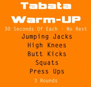 Tabata Warm Up
