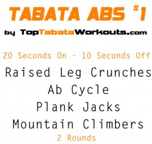 Abs Tabata Workout