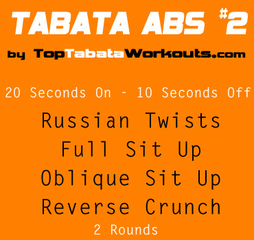 Tabata abs workout
