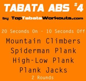 tabata workout routines