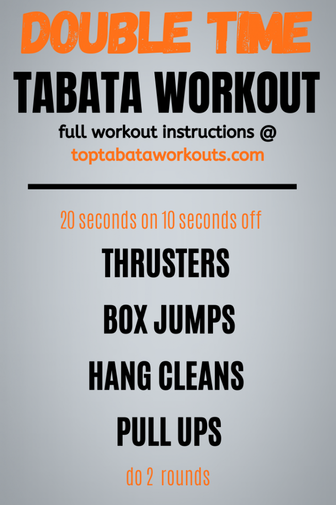 Not for beginnners. this is a tiugh crossfit inspired Tabata workout with weights that you will either love or hate. Try this quick HIIT to see if you survive the challenge.