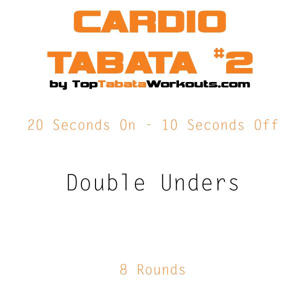 Cardio Tabata Double Unders