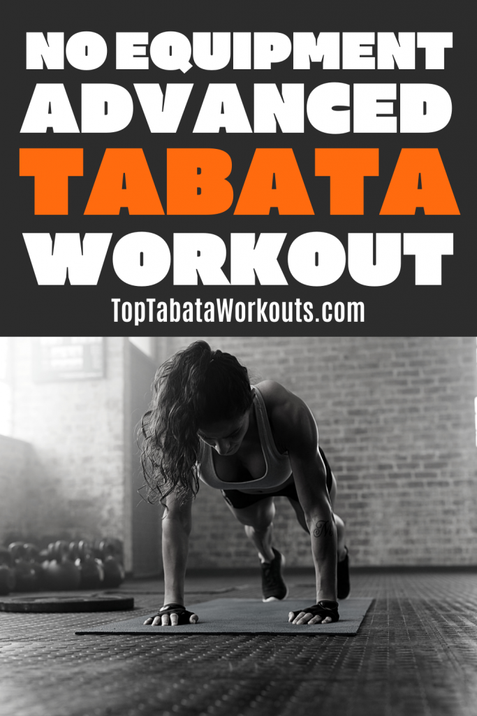 Get ready for a fast paced full body Tabata workout that will make you sweat! Get it done, no equipment needed, just you and your own body weight.