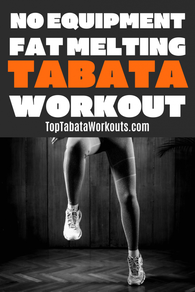 Get it done quick with this full body Tabata HIIT that needs no equipment. Quick at home Tabata workouts.
