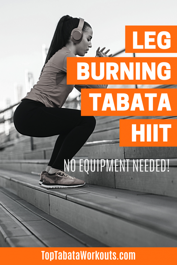 Your legs will be on fire after doing this bodyweight Tabata workout. Do this to burn fat and shape your legs and core.