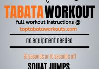 no-equipment-Tabata-workout